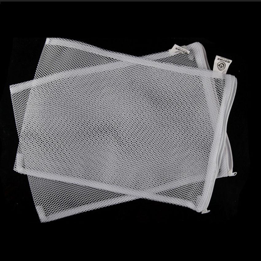 Bộ 2 Túi Đựng Vật Liệu Lọc 37x29cm dùng trong các hệ thống lọc bể cá koi, máy lọc nước hồ cá, bể cá cảnh Trắng