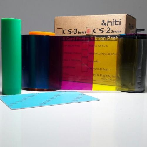 Ribbon mực in thẻ màu YMCKO HiTi 87.R0A09.19X - Hàng Chính Hãng
