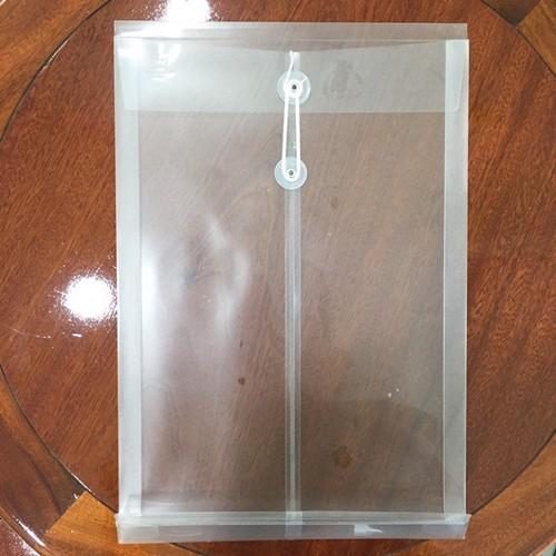 Bìa cột dây F4 - 12 cái 1 xấp- Màu trắng