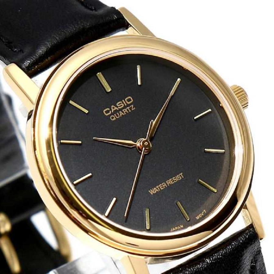 Đồng hồ nam Casio chính hãng dây da MTP-1095Q-1A (34mm)