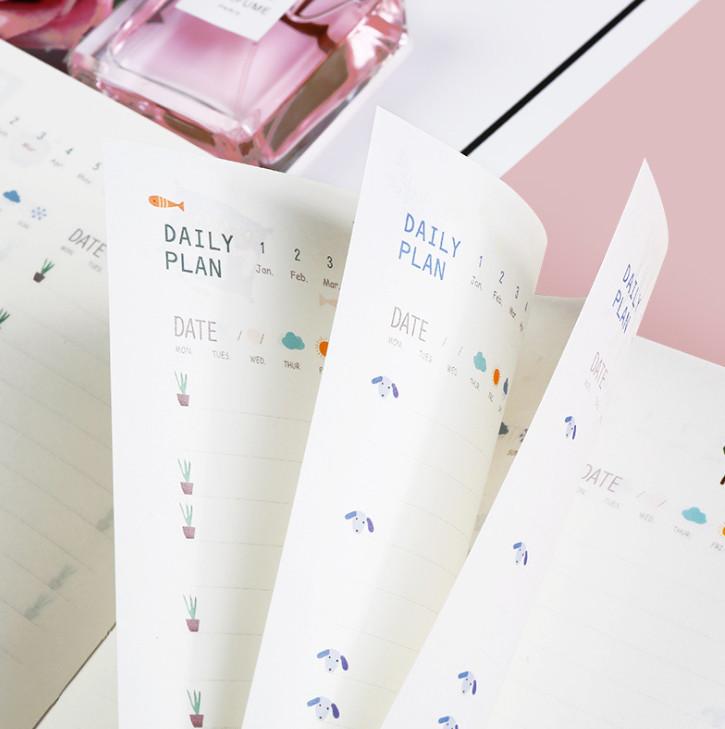 Sổ Kế Hoạch Nhật Ký 365 Ngày Life Planner (Tặng Kèm 2 Tấm Sticker Mini) Ver. Winter