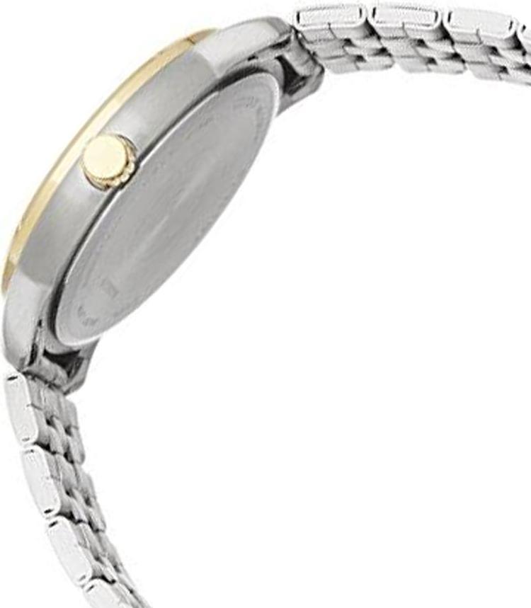 Đồng Hồ Citizen Nam Dây Kim Loại Pin-Quartz BI0994-55P - Mặt Vàng (42mm)