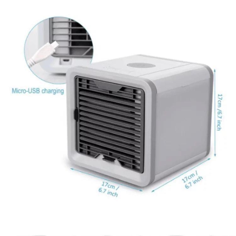 Máy làm mát không khí mini tặng kèm giá đỡ điện thoại thông minh