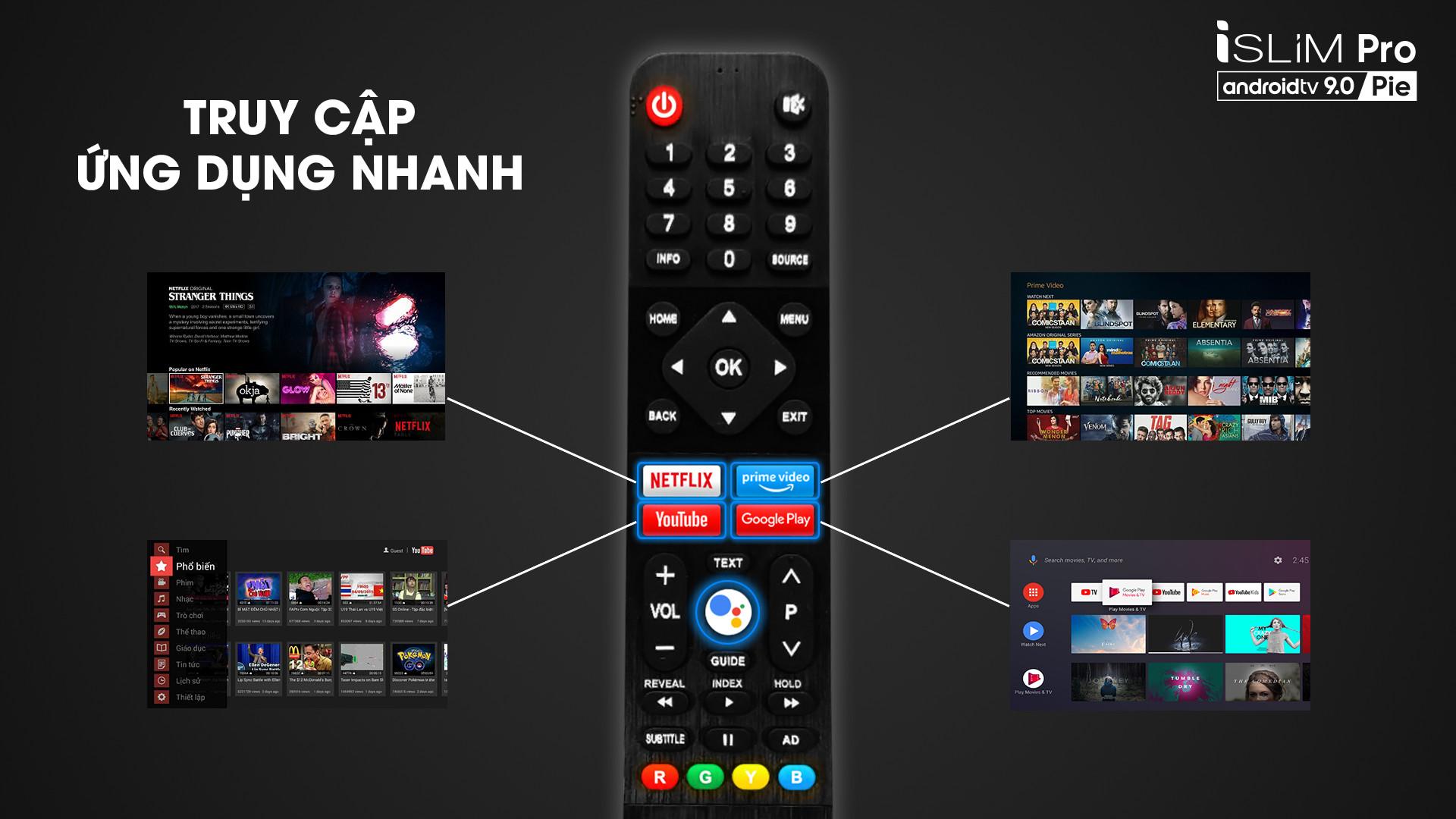 """Smart TV Asanzo iSLIM PRO 32""""- 32S51 (Android 9.0 Pie – 2020) Hàng Chính Hãng"""