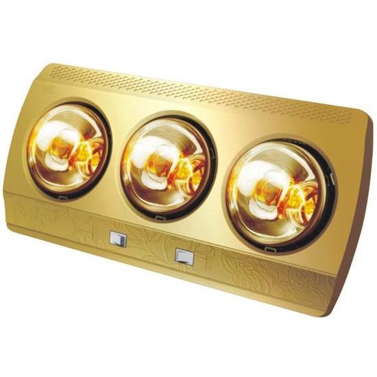 Đèn sưởi phòng tắm 3 bóng Milor treo tường - Hàng chính hãng