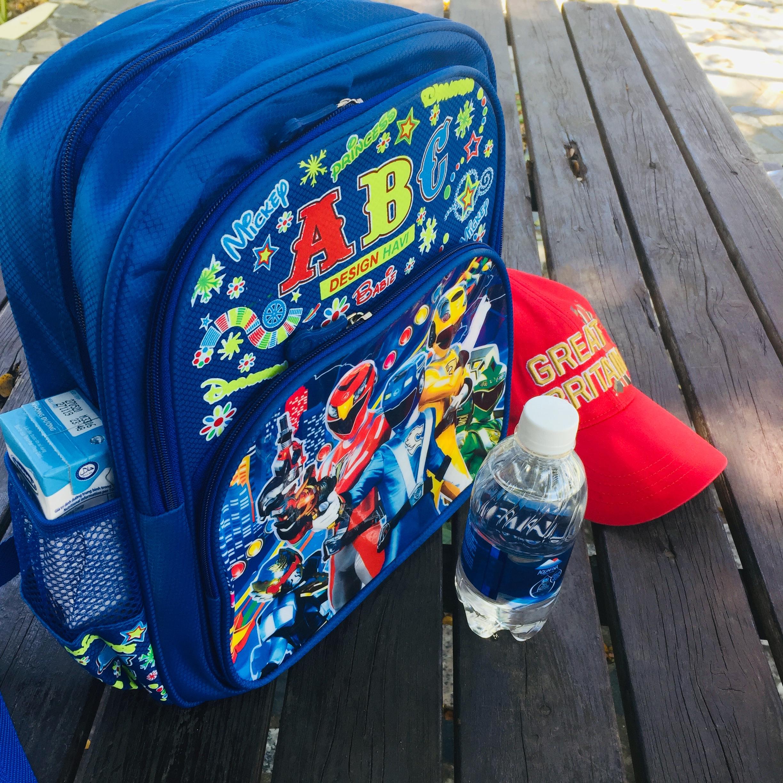 Balo đi học cho bé Trai và bé Gái từ Mẫu giáo đến lớp 6 may bằng vải Siêu Nhẹ, trượt nước, in Nhân Vật Hoạt Hình 3D .