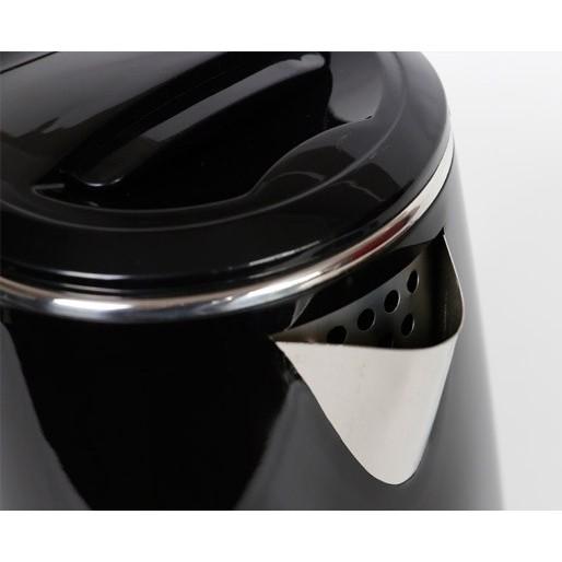 Ấm siêu tốc, bình đun siêu tốc 2 lít MATIKA-20, màu đen, công suất 1500W, hình ảnh thực tế-Hàng chính hãng