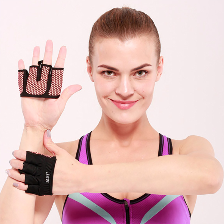 Bộ đôi găng tay xỏ ngón silicone chống trượt Aolikes AL111