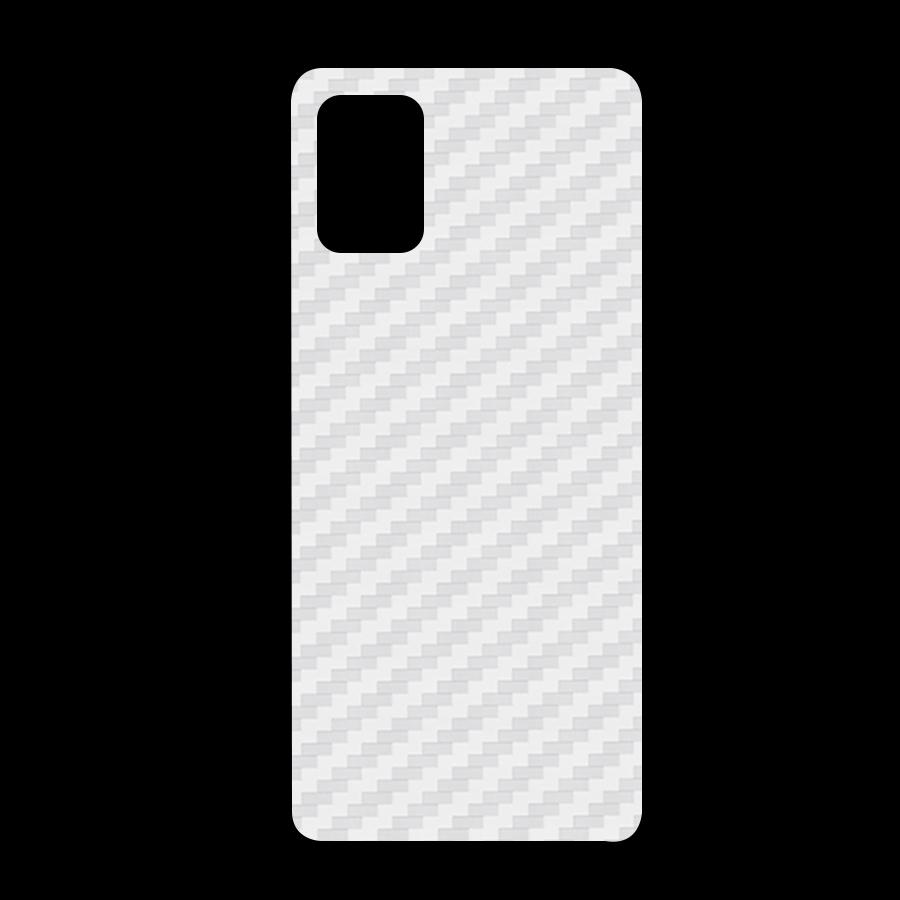 Miếng Dán Mặt Lưng Cacbon Dành Cho Samsung Galaxy A71- Handtown - Hàng Chính Hãng