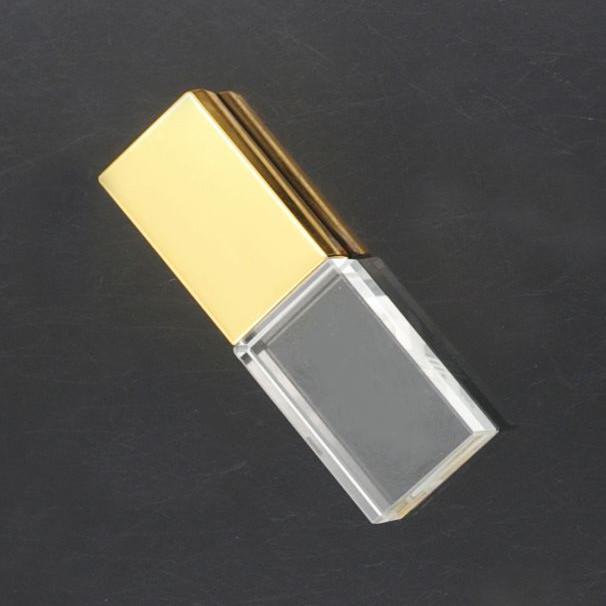 Gold Crystal USB- USB Pha lê phát sáng- Màu gold ( vàng)