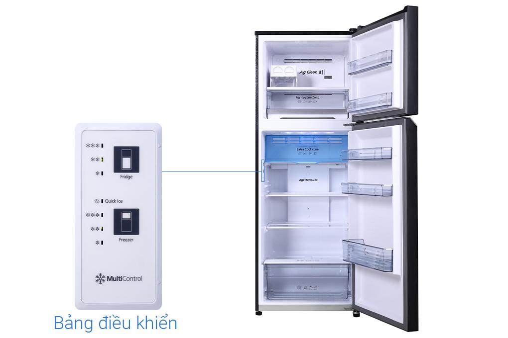 Tủ lạnh Panasonic Inverter 366 lít NR-TL381VGMV -Hàng chính hãng (Chỉ giao HCM)