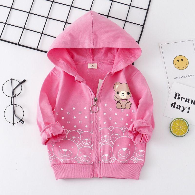 áo khoác gấu cho bé