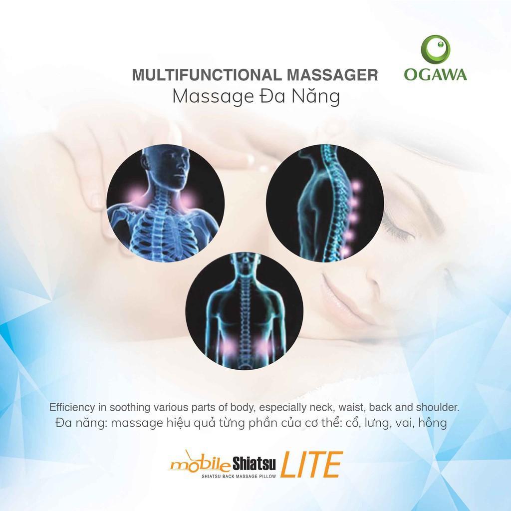 Gối massage cổ vai _ OGAWA