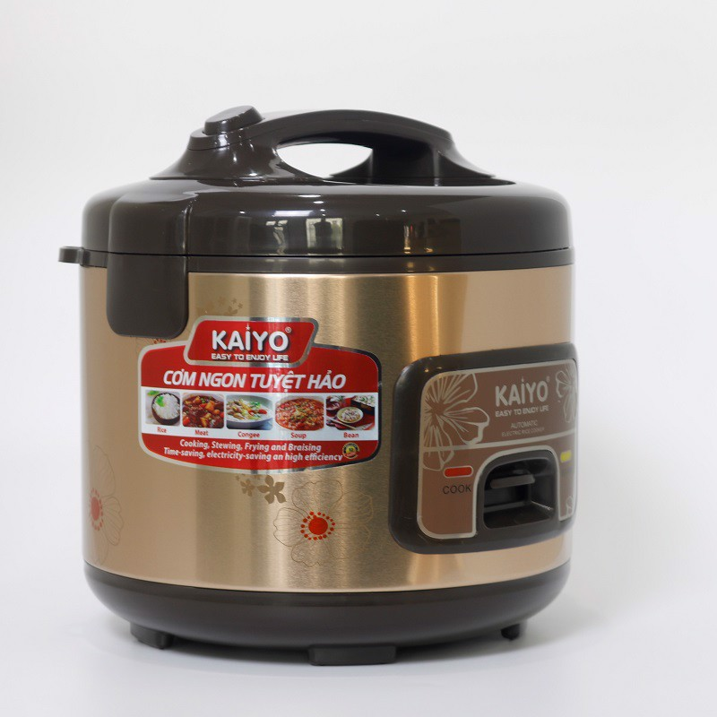 Nồi cơm điện chống dính KAIYO KY810 - 1.2L- Hàng chính hãng - Giao màu ngẫu nhiên