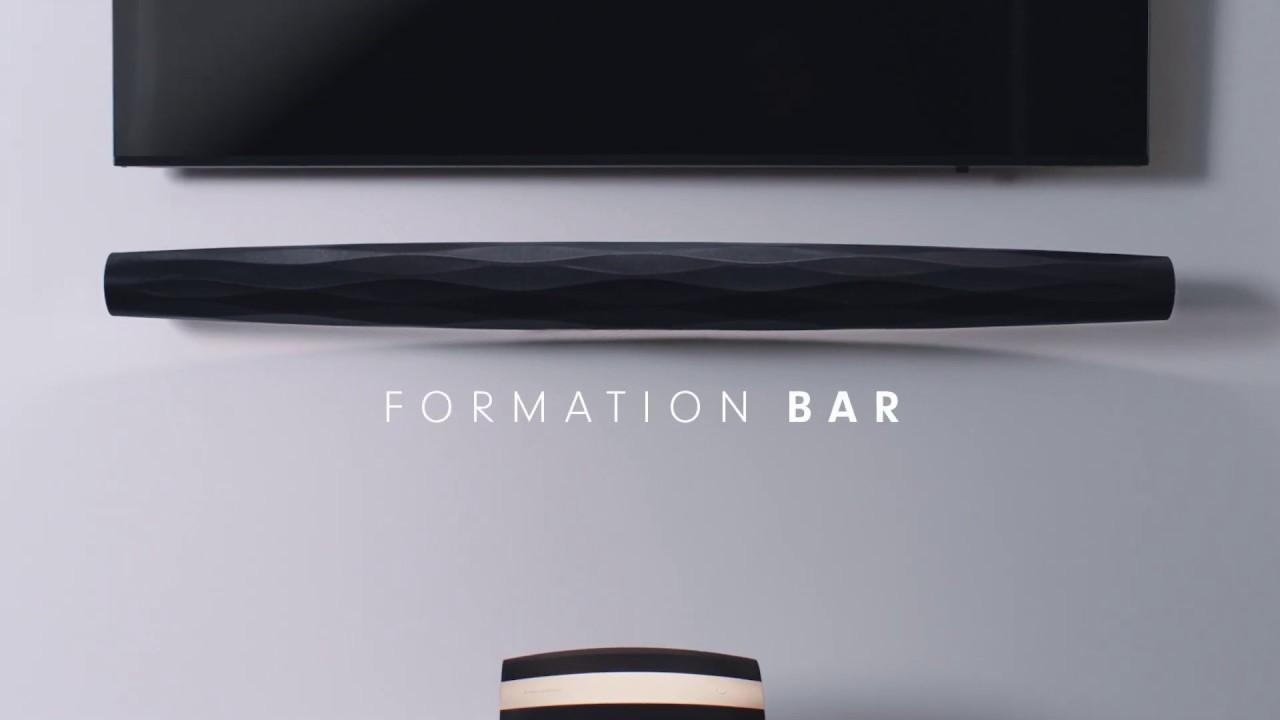 Loa SOUNDBAR BOWERS & WILKINS FORMATION BAR hàng chính hãng new 100%