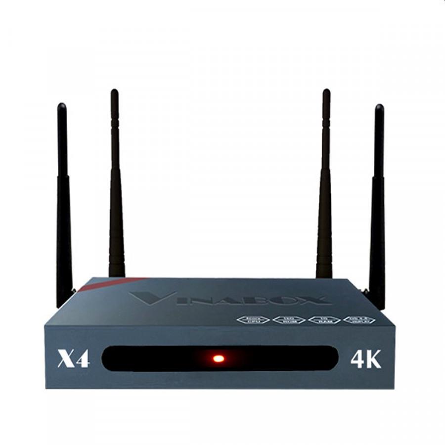 VINABOX X4 Điều khiển giọng nói 4K Chính hãng