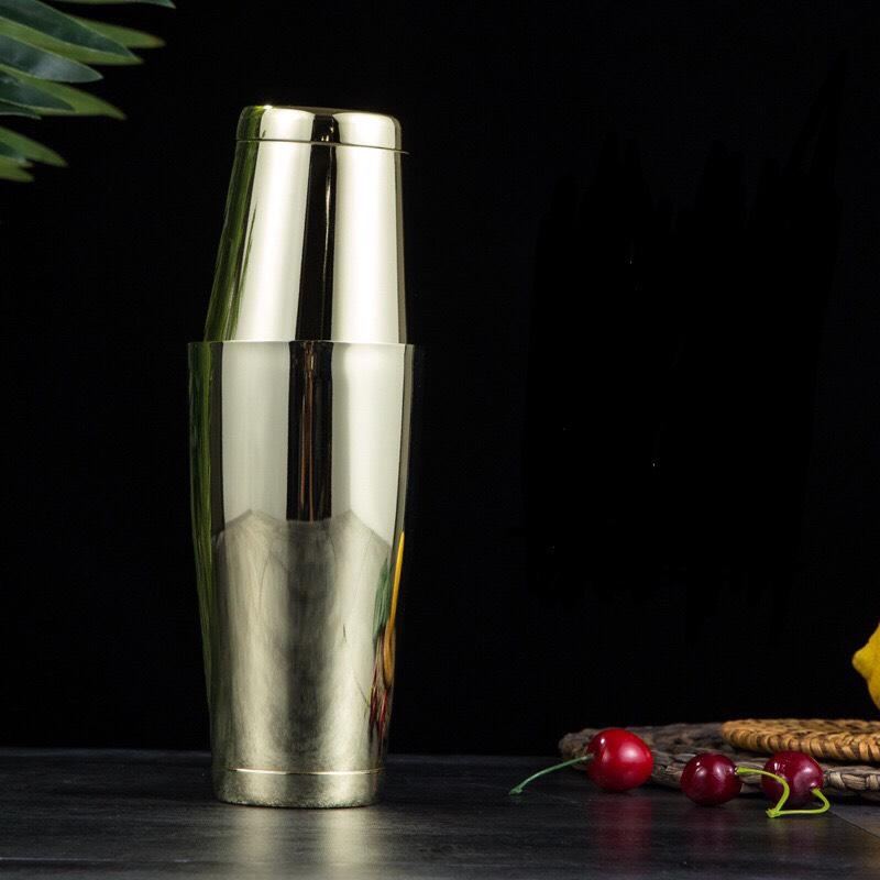Dụng Cụ Lắc Cocktail Inox 304 Cao Cấp 550ml - Thép Không Gỉ