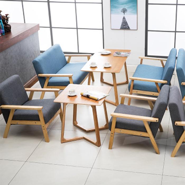 Ghế sofa nỉ đơn hiện đại, ghế sofa đơn, ghế sofa phong cách bắc âu