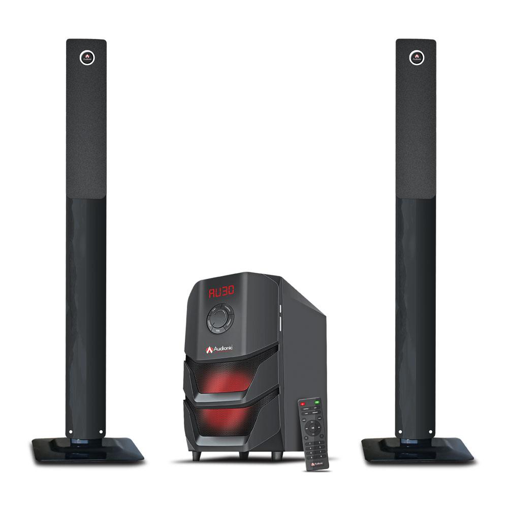 Loa vi tính tivi bluetooth Audionic RB90 led tivi speaker nghe nhạc 2.0 bass treble hay kèm remote hàng nhập khẩu