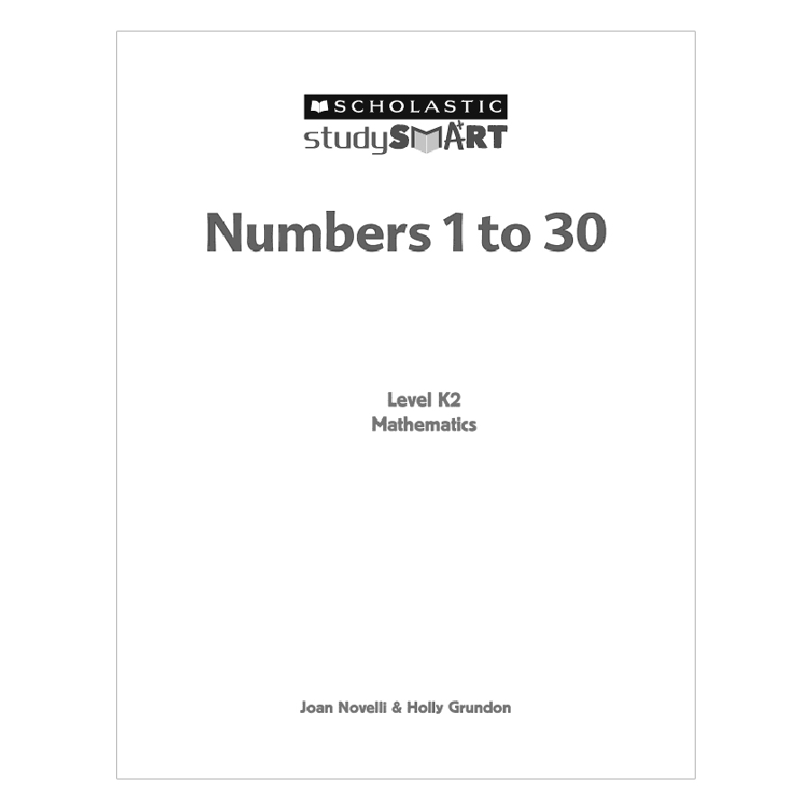 Study Smart: Numbers 1 To 30 K2