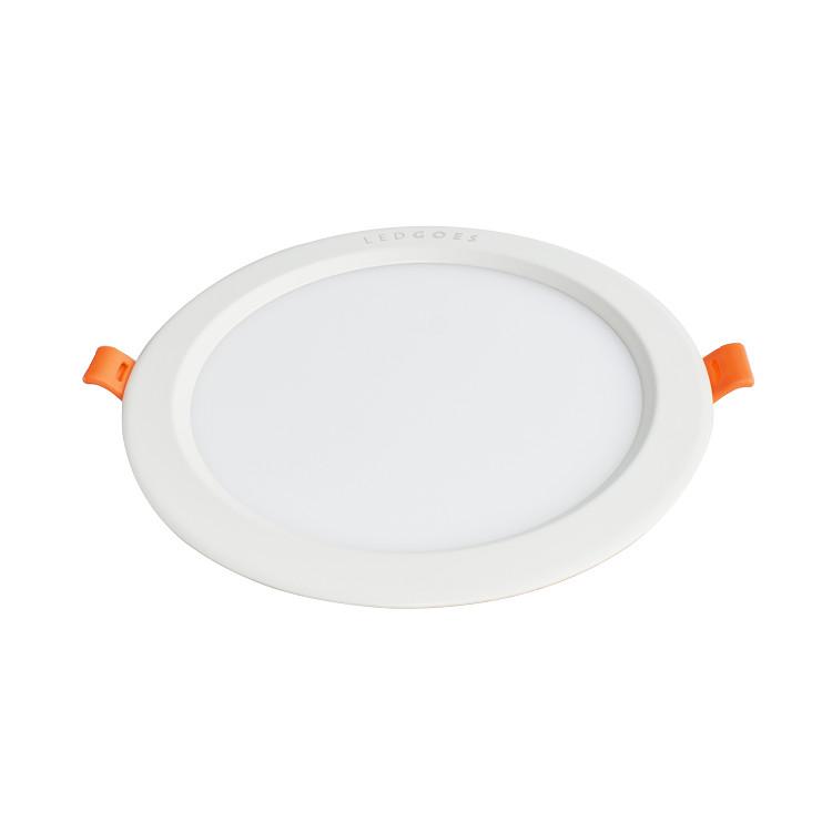 Đèn LED âm trần siêu mỏng LEDGOES DL SLIM-RD 18W