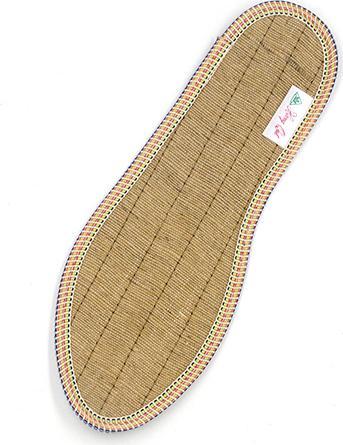 Lót giày quế, SỢI ĐAY, vải cotton hút ẩm, khử mùi hôi chân, giúp êm chân, ấm chân, phòng cảm cúm, cải thiên sức khỏe - CI-08