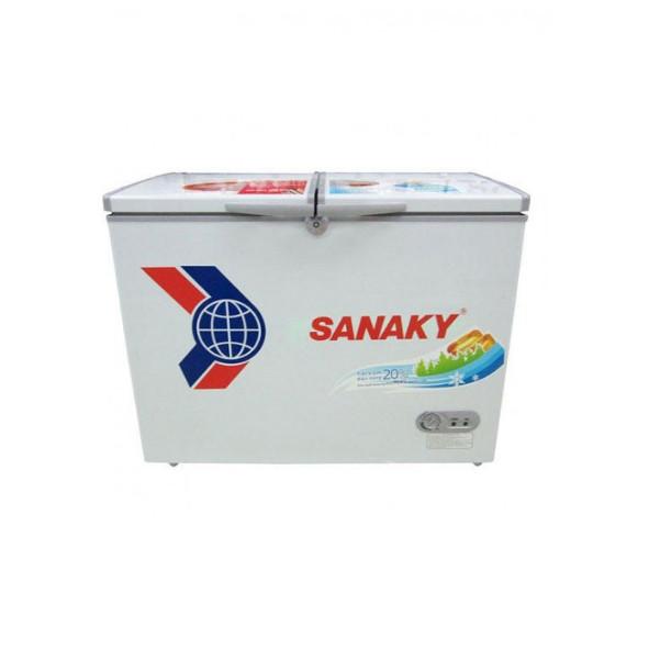 Tủ Đông Sanaky VH-568W2 2 Ngăn 2 Cánh Dàn Lạnh Nhôm (560L) - Hàng Chính Hãng