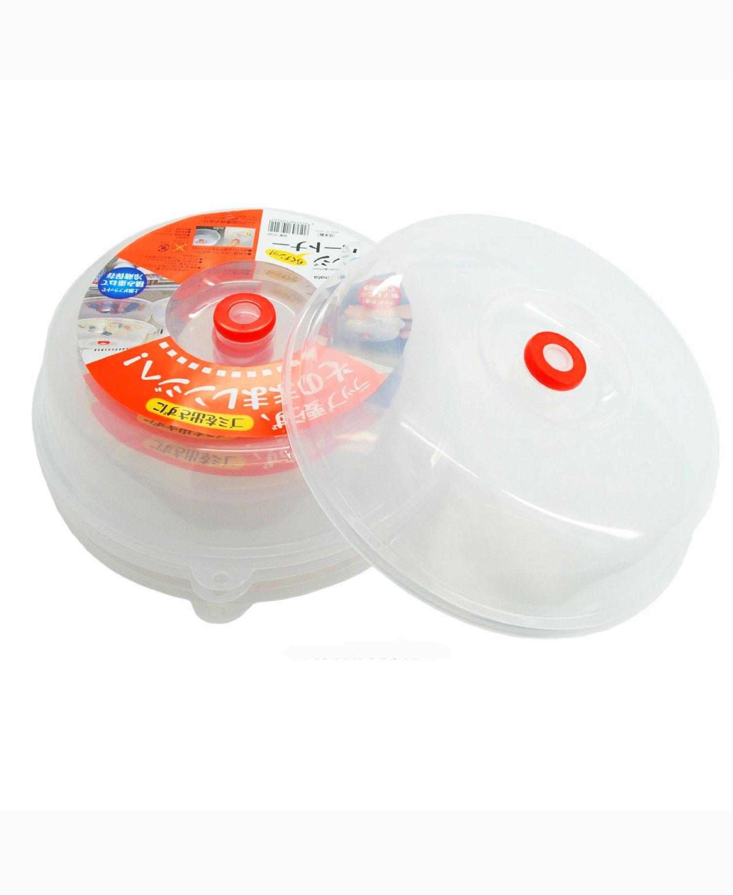 Combo Nắp đậy dùng cho lò vi sóng + Set 40 giấy thấm dầu mỡ đồ chiên rán nội địa Nhật Bản