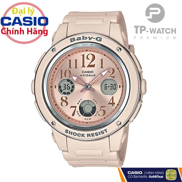 Đồng Hồ Nữ Casio Baby-G BGA-150CP-4BDR Pastel Beach Dây Nhựa