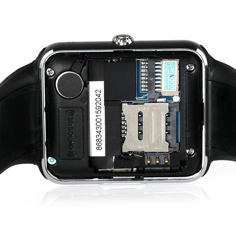 Đồng Hồ Thông Minh Smart Watch Lắp Sim Nghe Gọi Theo Dõi Vận Động GT08
