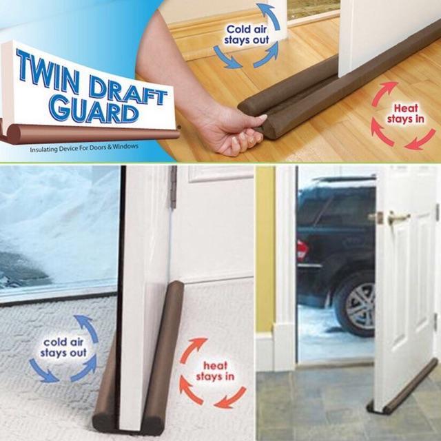 Miếng bịt kín đáy cửa ra vào và cửa sổ cách âm chống gió lùa Ron chặn khe cửa chống côn trùng ngăn tiếng ồn