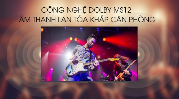 Âm thanh Dolby - Smart Tivi TCL 4K 43 inch L43P65-UF