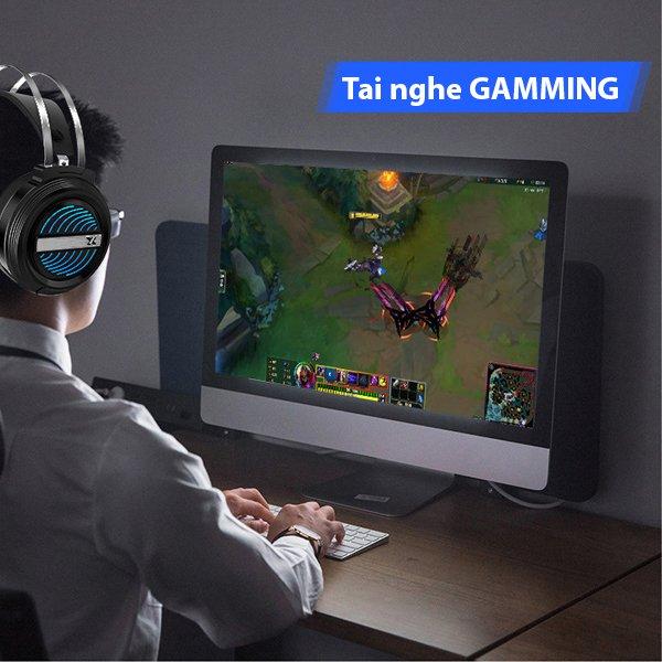 Tai Nghe Gaming  X9 Omega Virtual 7.1 Led RGB