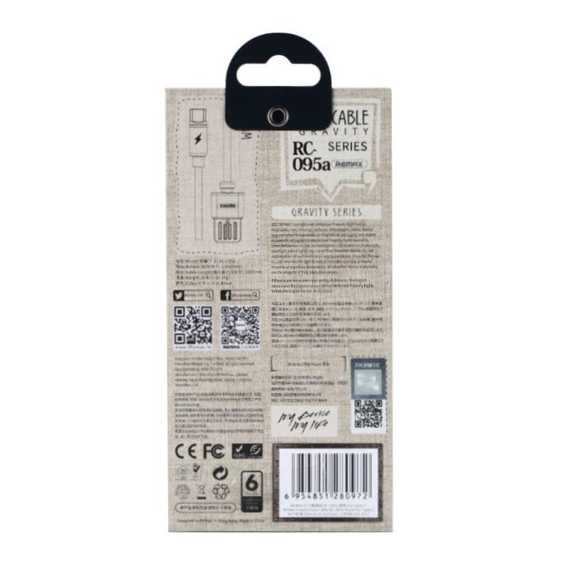 Cáp Sạc Từ USB Type-C Remax RC-095A - Hàng chính hãng