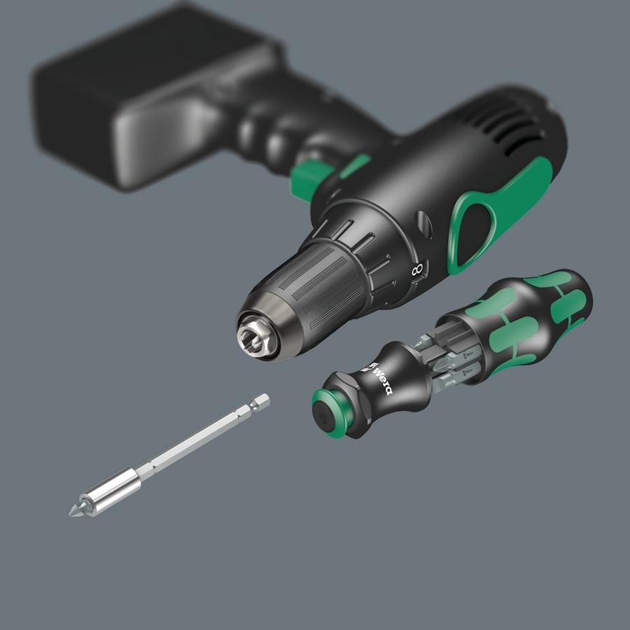 Bộ vặn vít đa năng kraftform kompakt 28 kèm túi đựng bằng vải, Wera 05134491001