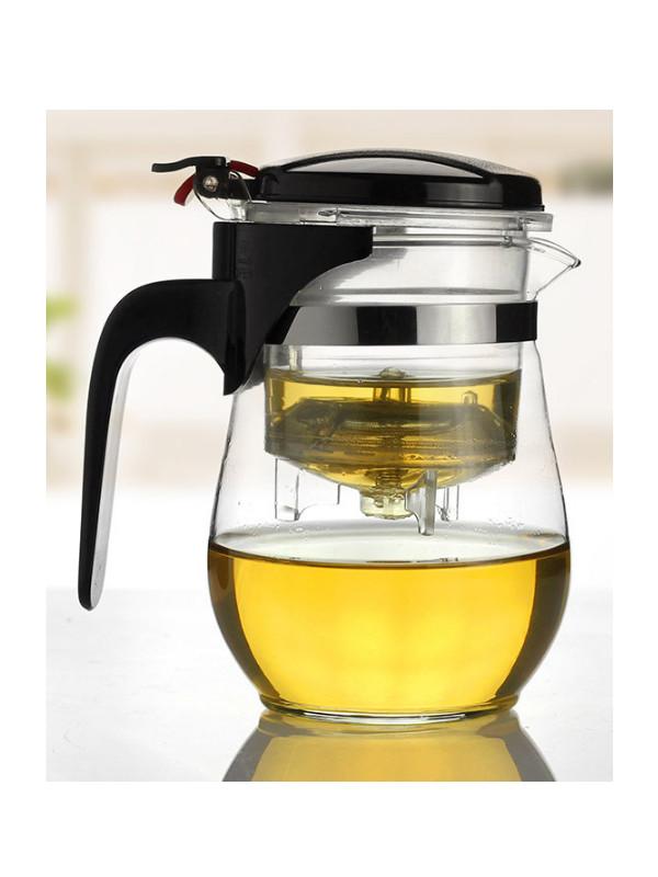 Ấm pha trà thủy tinh zeno ATT23 - 600ml