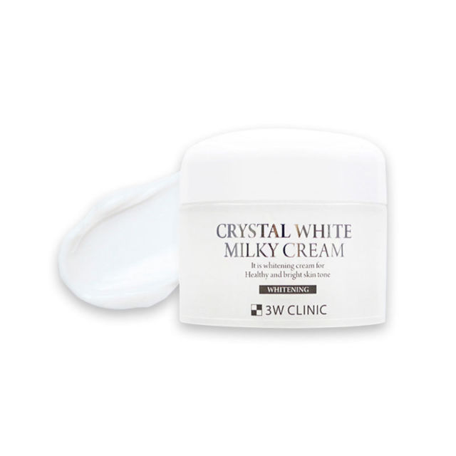 Kem Dưỡng Trắng 3W Clinic Crystal White Milky Cream 50g