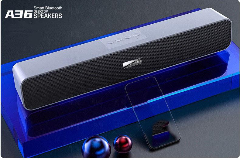 Loa thanh soundbar bluetooth YINDIAO A36 Màu Trắng - Hàng Nhập Khẩu
