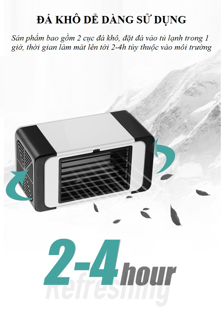 Quạt hơi nước mini S_100