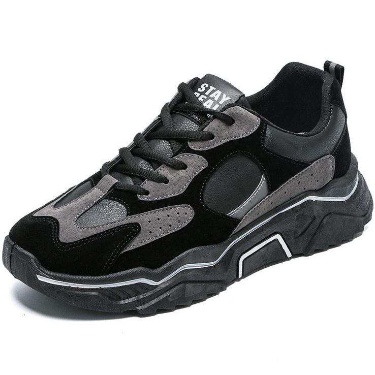 Giày thể thao nam đế dày thời trang, chất liệu cao cấp, nâng chiều cao, đi êm chân