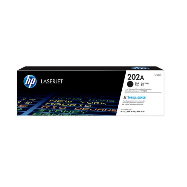 HP 202A Black Original LaserJet Toner Cartridge(CF500A) - Hàng Chính Hãng