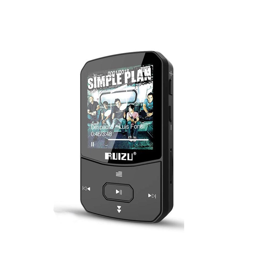 Máy Nghe Nhạc thể thao MP3 Sport Bluetooth 4.1 Ruizu X52 Bộ Nhớ Trong 8GB - Hàng chính hãng