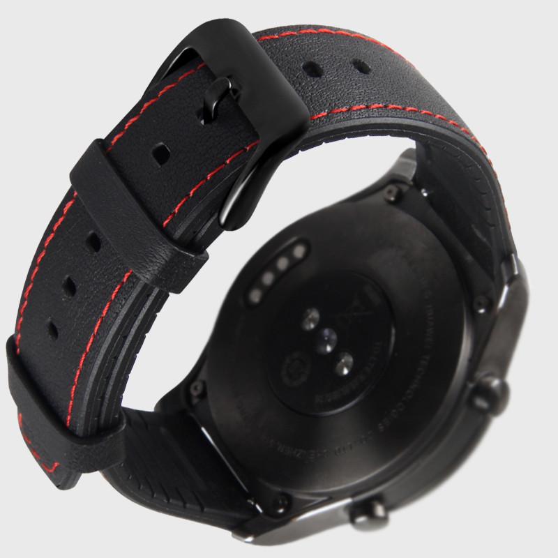 Dây Da Hybrid cho Cho Đồng Hồ Samsung Galaxy Watch 46, Gear S3, Huawei GT, Fossil, Đồng hồ Classic (Size 22mm)