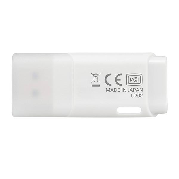 Ổ cứng di động 16GB U202 USB 2.0 Kioxia (Trắng) - Hàng Chính Hãng