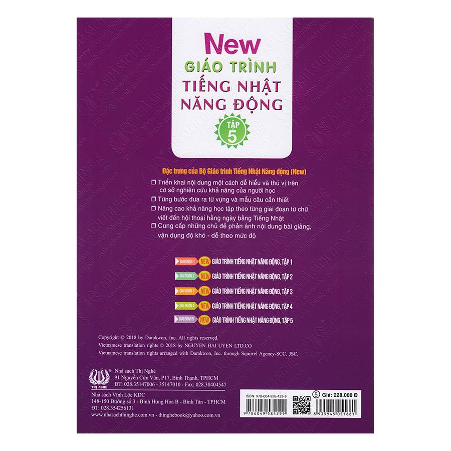New Giáo Trình Tiếng Nhật Năng Động - Tập 5 (Kèm CD)