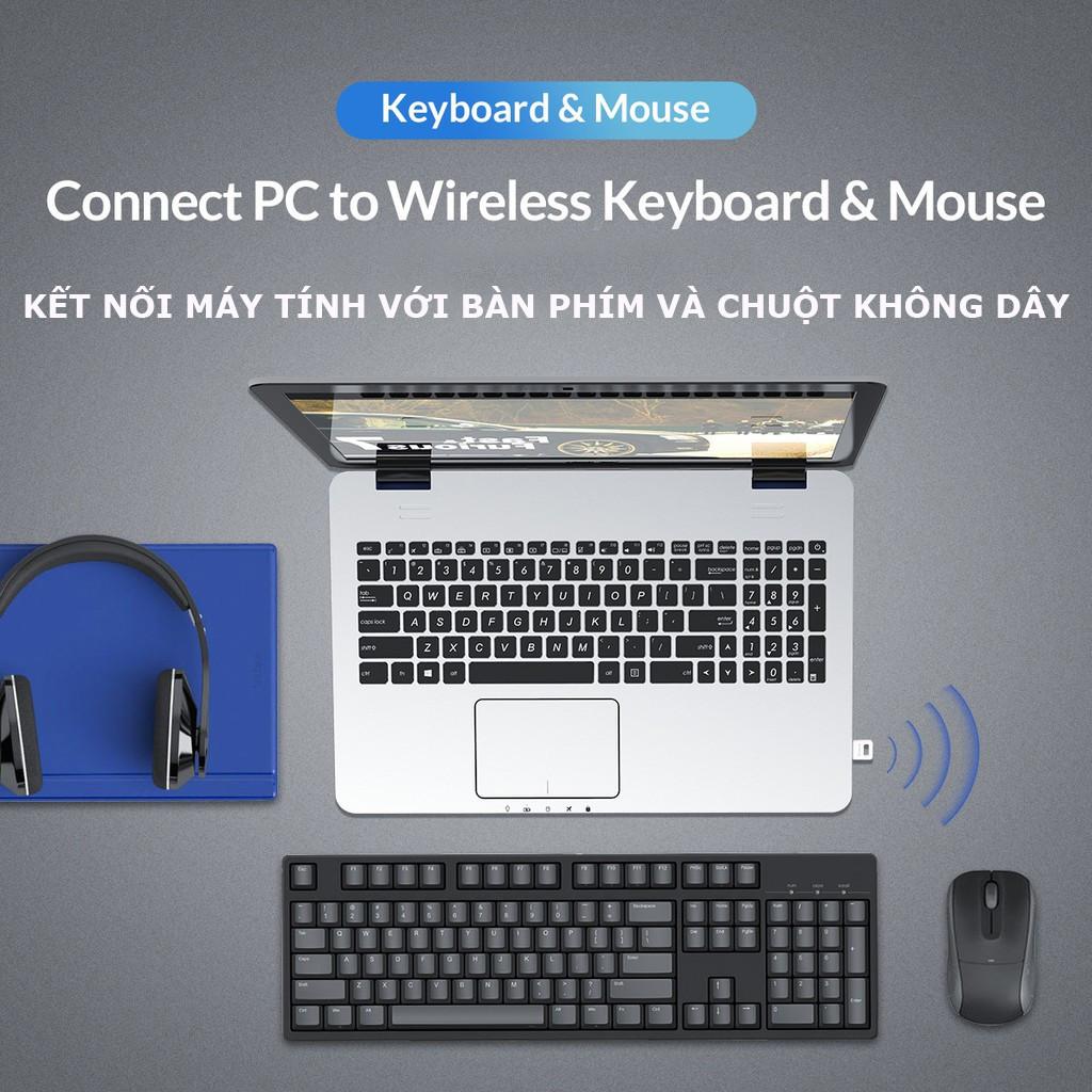 Thiết bị kết nối Bluetooth 4.0 qua cổng USB dùng cho máy tính BTA-409 - Hàng nhập khẩu
