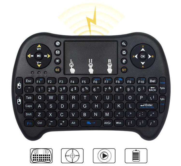 Bàn Phím Chuột Wireless Cho Smart Tivi (tặng kèm 1 sản phẩm ngẫu nhiên)