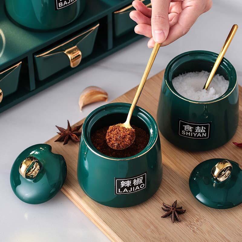 Bộ kệ để gia vị bếp kitchen ware bằng khung kim loại - VS401