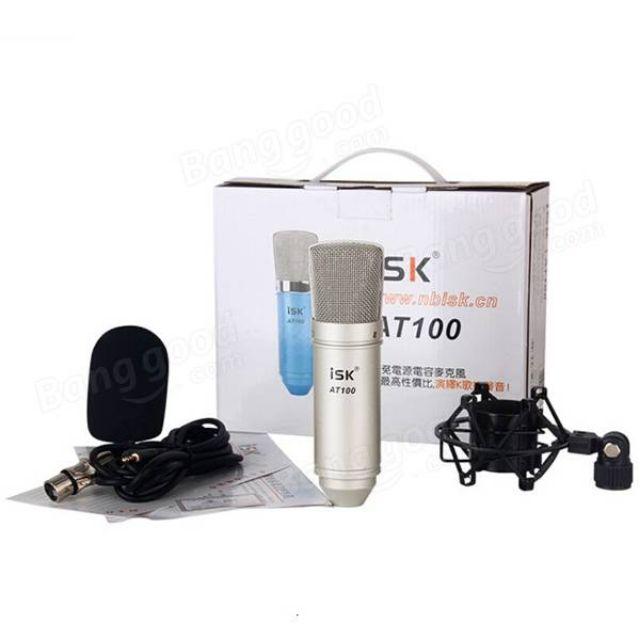 Micro thu âm ISK AT-100 Hàng Chính Hãng