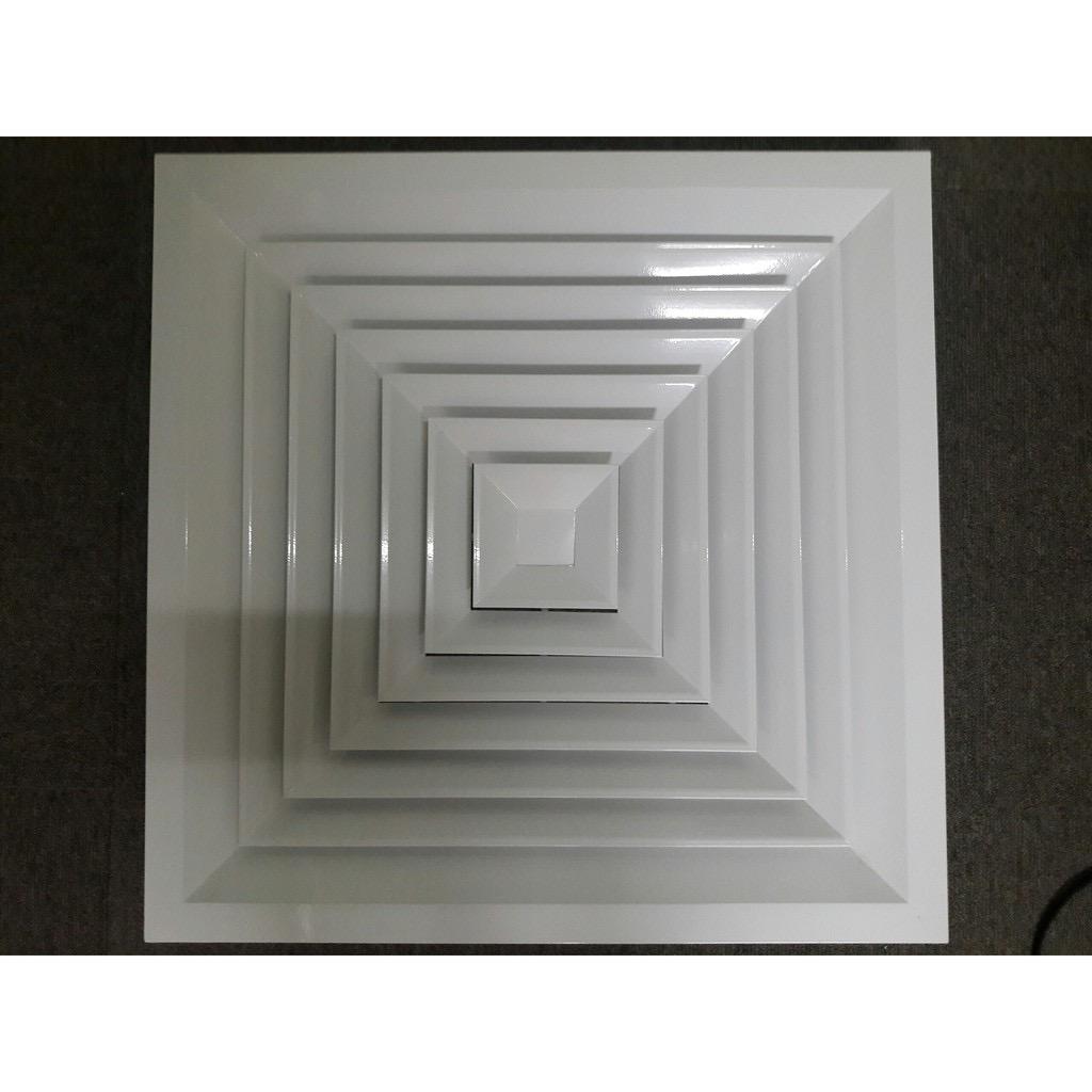 Cửa khuếch tán, miệng gió, cửa gió 600x600 cho điều hòa âm trần